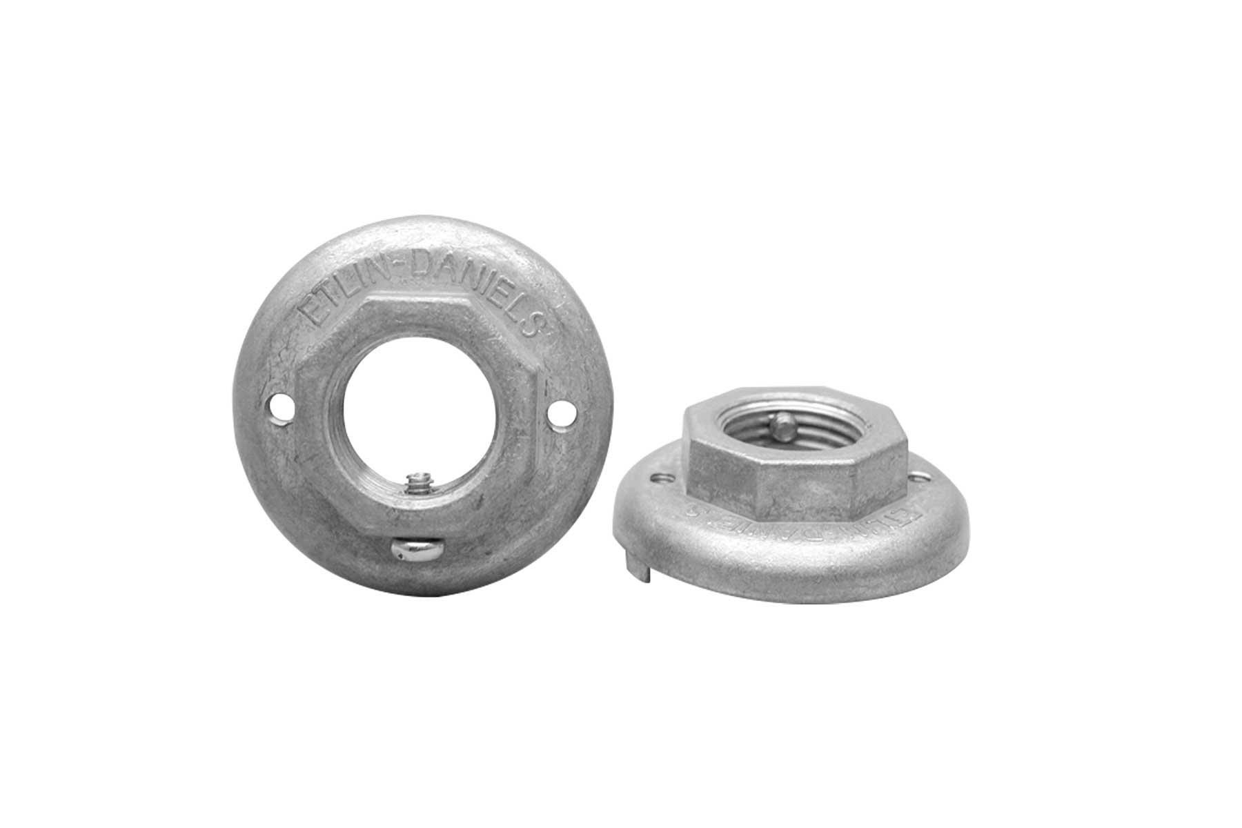 Metal Cap for IS4221 Mogul Base Porcelain Incandescent Light Socket