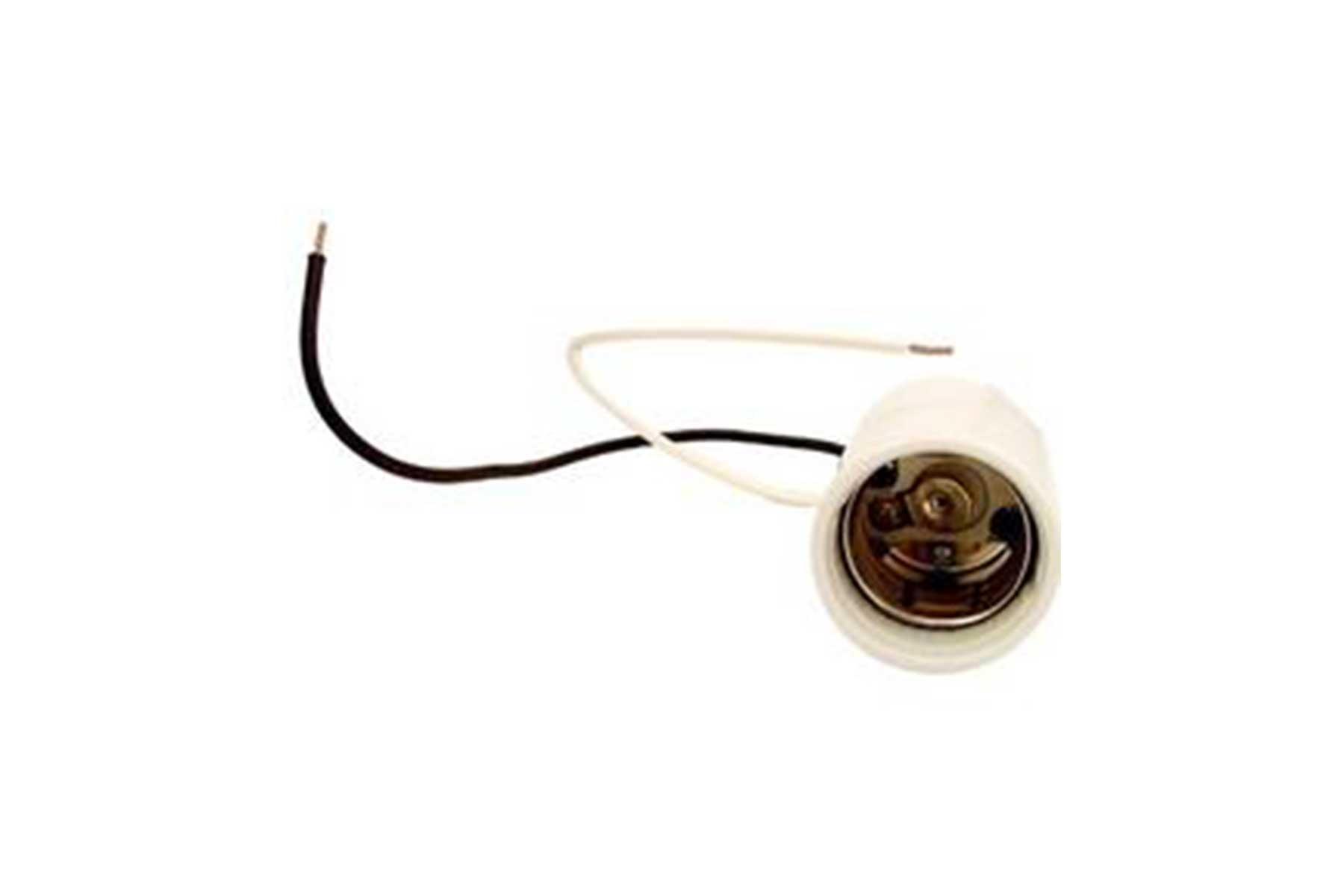 Mogul Tab Base Porcelain Incandescent Light Socket