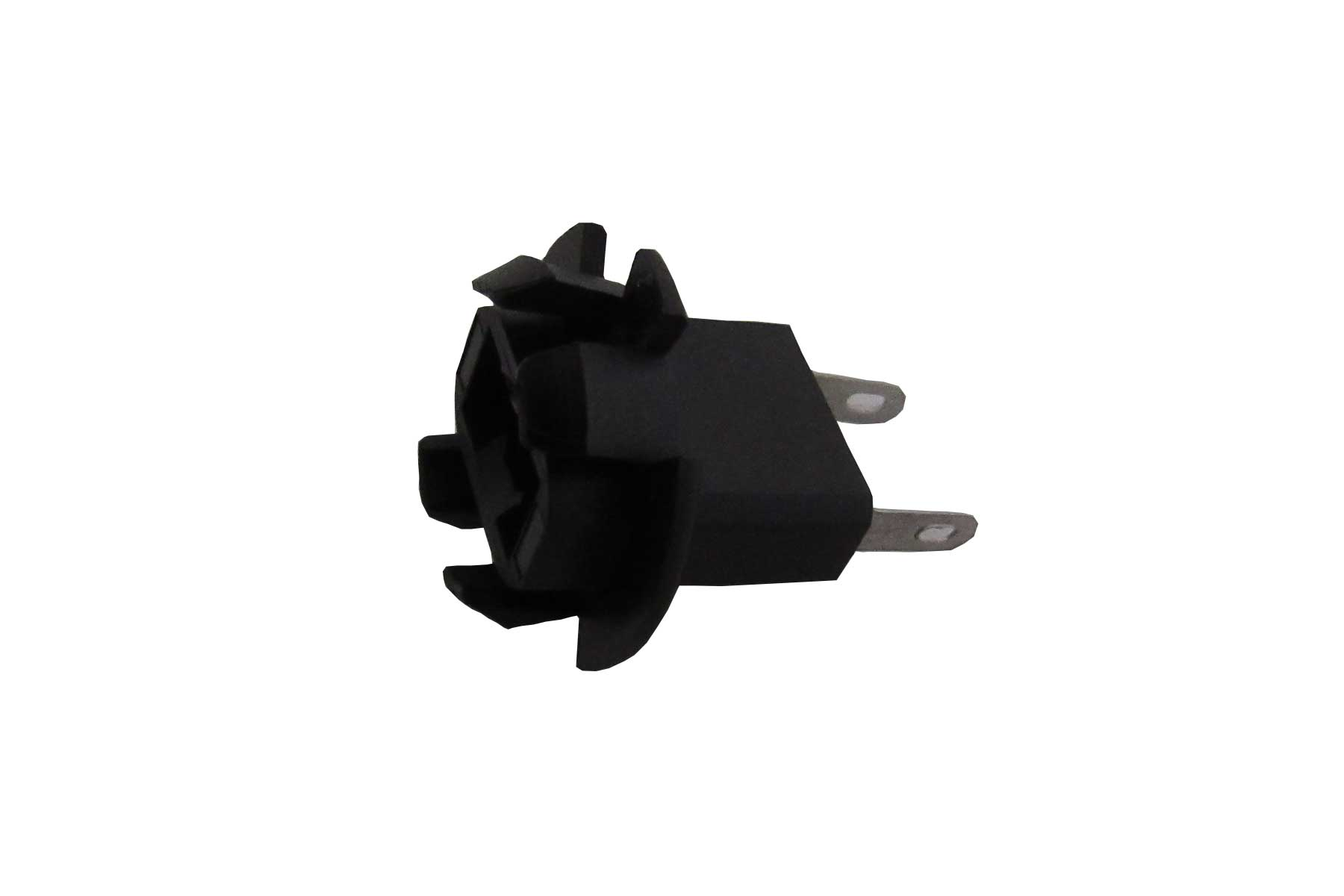 Miniature T3 Wedge Base and Halogen Candelabra Bayonet Base Plug Button Socket