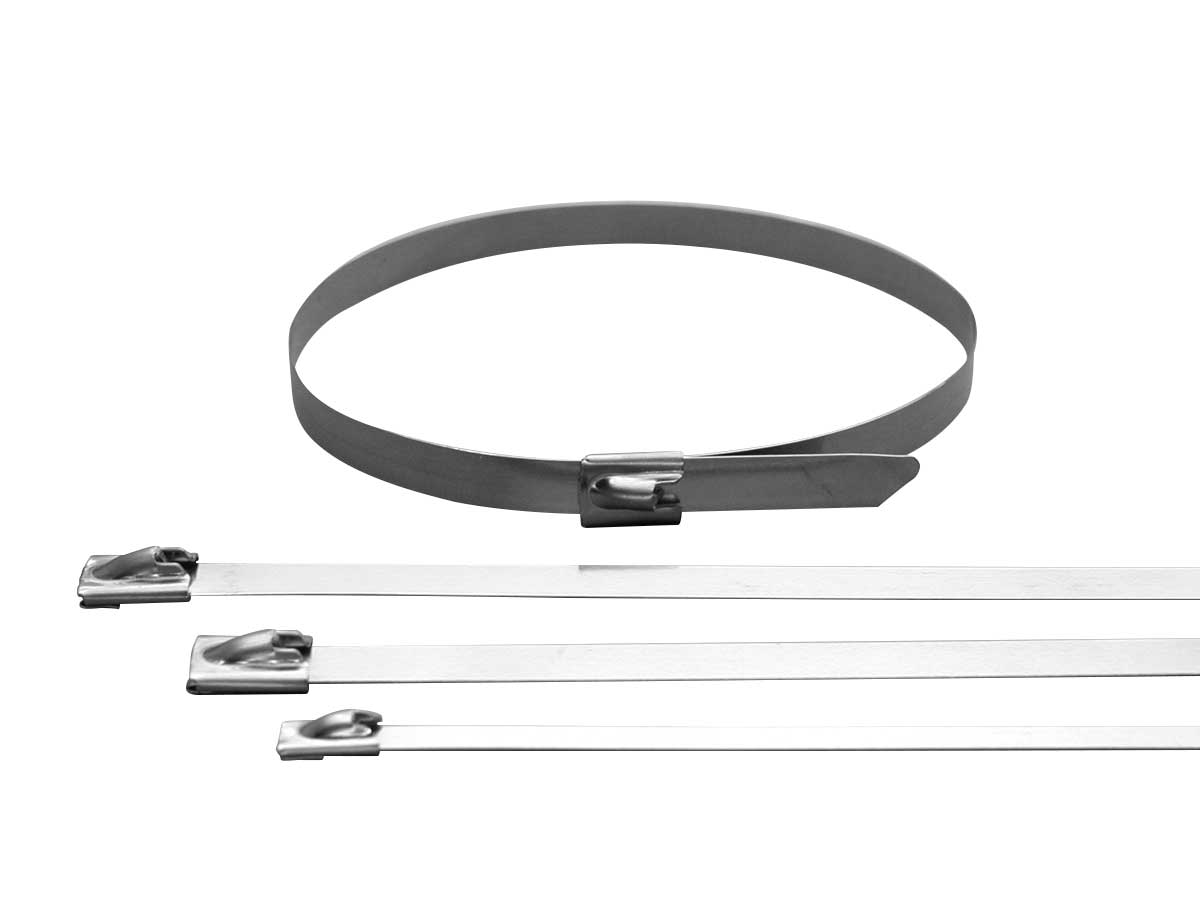 Stainless Steel Cable Ties with Ball Lock