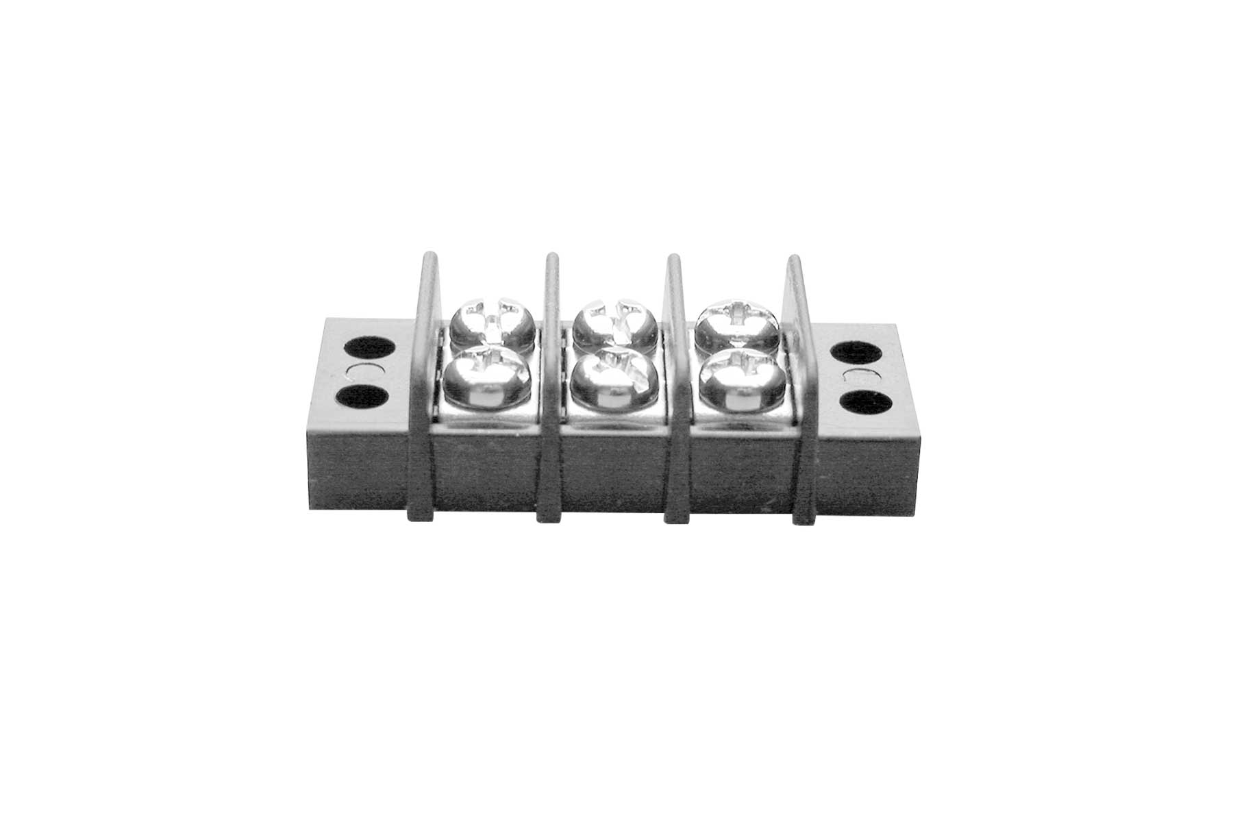 Barrier Style Double Row Terminal Block